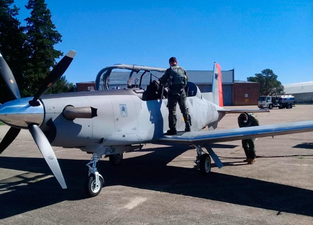 T6C, Textron, Beechcraft, Argentina