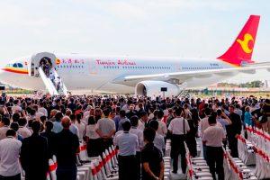 Airbus inaugura su Centro de Acabado y Entrega del A330 en China