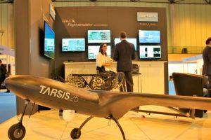 Aertec presenta en ADM Sevilla 2018 las aplicaciones civiles del Tarsis 25