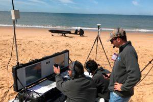 El TARSIS 75 completa una operación automática en playa