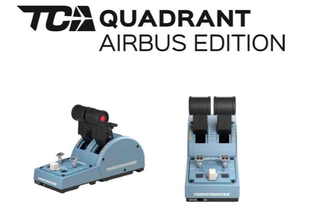 TCA Quadrant Airbus Edition, Thrustmaster