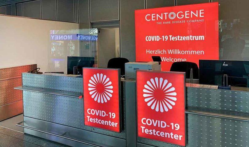 test de covid Lufthansa