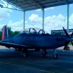 "La Fuerza Aérea Argentina incorpora un T-6C ""Texan II"" al operativo fronteras"
