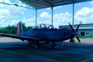Llegan a la Argentina dos nuevos T-6C Texan II