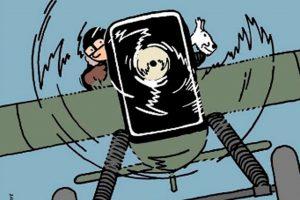 """El museo Aeroscopia de Toulouse inaugura la exposición """"Tintin y sus aviones"""""""