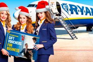 Ryanair lanza tarjetas regalo para empresas