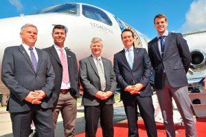 Embraer se convierte en el primer fabricante en ofrecer conectividad de banda Ka de alta capacidad para aviones ejecutivos de cabina mediana