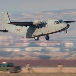 El Aviocar alcanza las 100.000 horas de vuelo