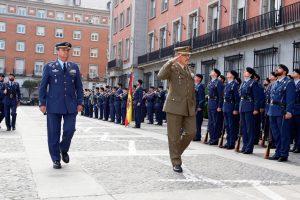 Primera visita del JEMAD al Cuartel General del Ejército del Aire