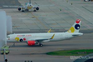 Viva Air recibe su primer Airbus A320 nuevo de fábrica