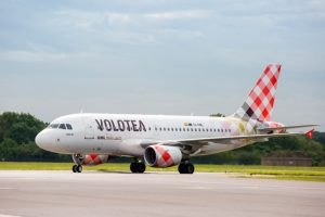 Volotea comienza 2019 entre las low cost más puntuales de Europa