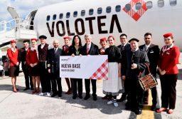 Volotea inaugura su nueva base en Bilbao