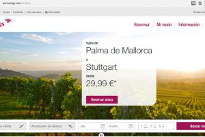 Eurowings rediseña su web para facilitar su uso a personas con discapacidad